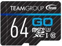 Фото - Карта памяти Team Group GO microSDXC UHS-I U3 64Gb