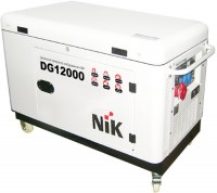 Фото - Электрогенератор NiK DG12000