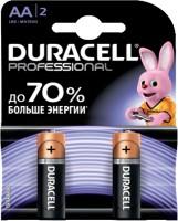 Аккумуляторная батарейка Duracell 2xAA Professional MN1500