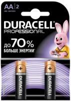 Аккумуляторная батарейка Duracell 2xAAA Professional MN2400