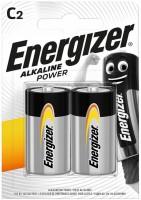 Аккумуляторная батарейка Energizer Power 2xC