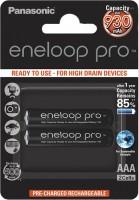 Аккумуляторная батарейка Panasonic Eneloop Pro 2xAAA 930 mAh