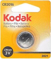 Аккумуляторная батарейка Kodak 1xCR2016