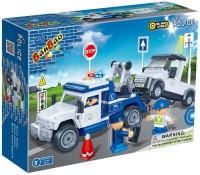 Фото - Конструктор BanBao Police Tow Truck 8345