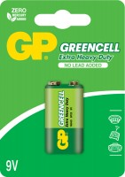 Аккумуляторная батарейка GP Greencell 1xKrona