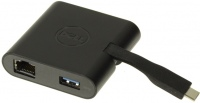 Картридер/USB-хаб Dell DA200