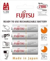 Аккумуляторная батарейка Fujitsu 4xAA 1900 mAh + box
