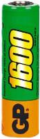 Аккумуляторная батарейка GP Rechargeable 1xAA 1600 mAh