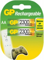 Аккумуляторная батарейка GP Rechargeable 1xAA 2300 mAh