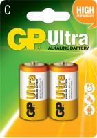 Аккумуляторная батарейка GP Ultra Alkaline 2xC