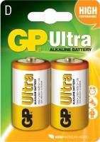Аккумуляторная батарейка GP Ultra Alkaline 2xD