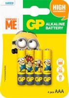 Аккумуляторная батарейка GP Minions 4xAAA