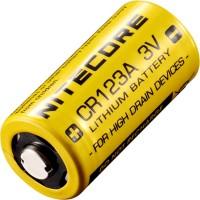 Аккумуляторная батарейка Nitecore 1xCR123
