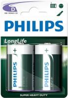 Аккумуляторная батарейка Philips LongLife 2xD
