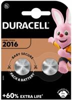 Аккумуляторная батарейка Duracell 2xCR2016 DSN