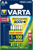 Аккумуляторная батарейка Varta Rechargeable Accu 2xAA 1600 mAh