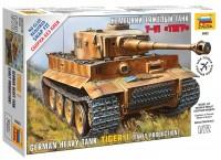 Сборная модель Zvezda Tiger I (1:72)