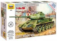 Сборная модель Zvezda Soviet Medium Tank T-34/85 (1:72)