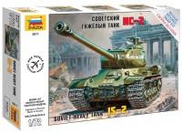 Сборная модель Zvezda Soviet Heavy Tank IS-2 (1:72)