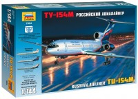 Фото - Сборная модель Zvezda Airliner TU-154M (1:144)