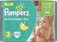 Фото - Подгузники Pampers Active Baby-Dry 3 / 42 pcs