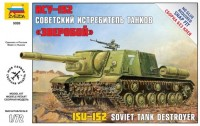 Сборная модель Zvezda Soviet Tank Destroyer ISU-152 (1:72)