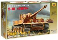 Сборная модель Zvezda Tiger I Ausf. E (1:35)