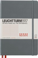 Блокнот Leuchtturm1917 Red Dots Notebook Grey