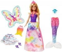 Кукла Barbie Dreamtopia with 3 Fairytale Costumes FJD08