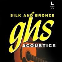 Струны GHS Silk and Bronze 11-49