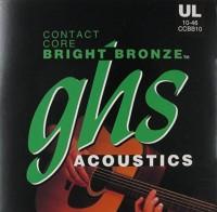 Струны GHS Contact Core Bright Bronze 10-46