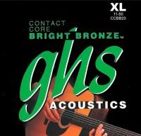 Струны GHS Contact Core Bright Bronze 11-50