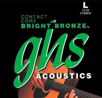 Струны GHS Contact Core Bright Bronze 12-54