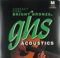 Струны GHS Contact Core Bright Bronze 13-56