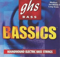 Фото - Струны GHS Bass Bassics 5-String 44-130