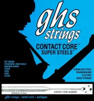 Струны GHS Contact Core Super Steels 45-105