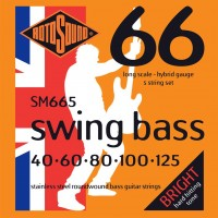 Фото - Струны Rotosound Swing Bass 66 5-String 40-125