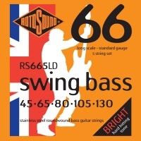 Фото - Струны Rotosound Swing Bass 66 5-String 45-130