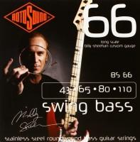 Струны Rotosound Swing Bass 66 Billy Sheehan Signature Set 43-110