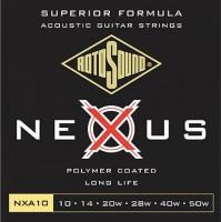 Фото - Струны Rotosound Nexus Acoustic 10-50