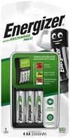 Зарядка аккумуляторных батареек Energizer Maxi Charger + 4xAA 2000 mAh