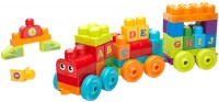Конструктор MEGA Bloks ABC Learning Train DXH35