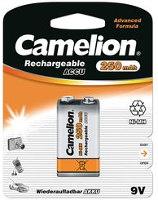 Аккумуляторная батарейка Camelion 1xKrona 250 mAh