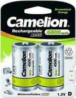 Аккумуляторная батарейка Camelion 2xD 4500 mAh