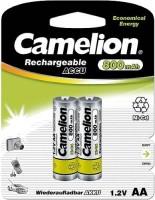 Аккумуляторная батарейка Camelion 2xAA 800 mAh