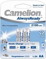 Аккумуляторная батарейка Camelion Always Ready 2xAA 2100 mAh