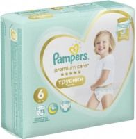 Фото - Подгузники Pampers Premium Care Pants 6 / 31 pcs