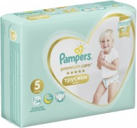 Фото - Подгузники Pampers Premium Care Pants 5 / 34 pcs