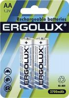 Аккумуляторная батарейка Ergolux 2xAA 2700 mAh