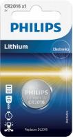 Аккумуляторная батарейка Philips 1xCR2016